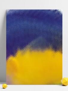 黄色紫色撞色肌理渐变背景
