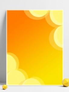 橙色圆圈背景素材