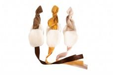 女性可爱漂亮蝴蝶结发带png素材
