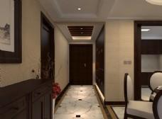 新中式走廊
