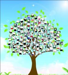 树形照片墙