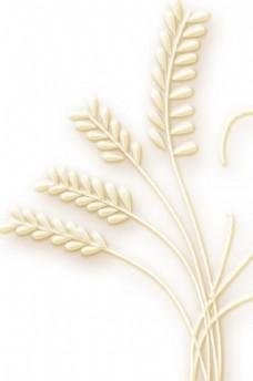 浮雕 麦穗