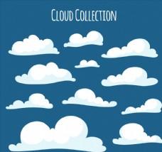 11款白色云朵设计