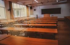 复古风格的教室商用摄影