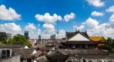 上海松江云间延时摄影蓝天白云