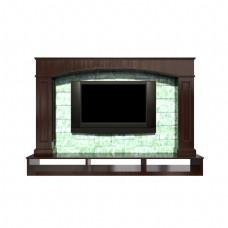 木材电视机背景墙