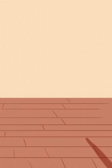 家庭木质地板背景