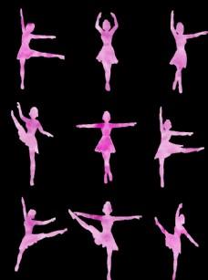 芭蕾舞剪影