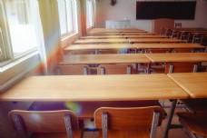 唯美校园教室商业摄影