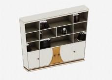 原创书柜装修设计效果图