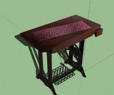 缝纫机模型