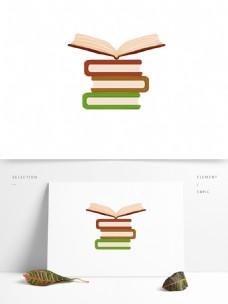 世界读书日手绘打开的书