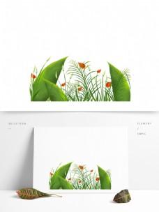植物小清新绿色叶子