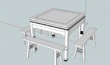 八仙桌模型