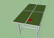 乒乓球桌模型