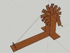 纺线机模型