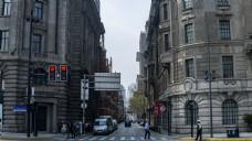 欧式建筑街道高清图片