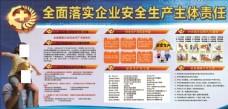 工地质量安全展板模板