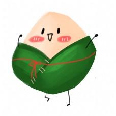 儿童卡通插画素材端午节拟人粽子