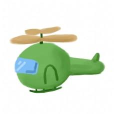 儿童卡通玩具飞机