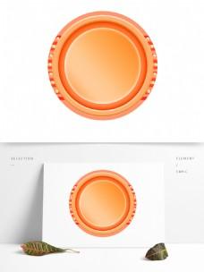 创意的圆形背景框素材