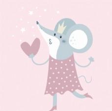 可爱老鼠小公主