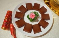 中式过年拜神黄糖年糕