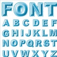 3D立体字母