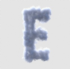 云字母 E字母