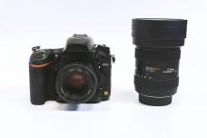 全画幅单反相机与超广角镜头
