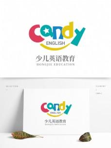 少儿英语教育logo