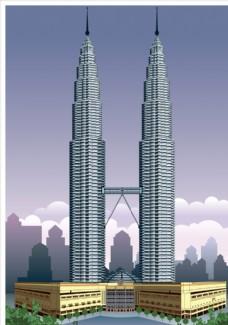 吉隆坡双峰塔