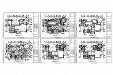 豪华欧式别墅CAD施工图纸