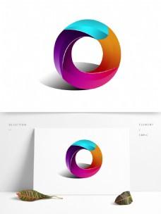 原创3d字母风格元素