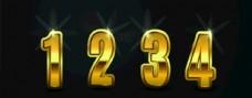 3D数字 3D字母 立体数字