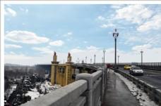 雪后游大桥