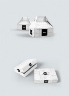 白色盒子包装样机