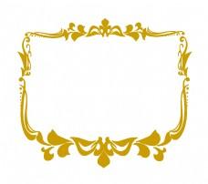 立体古典花纹边框