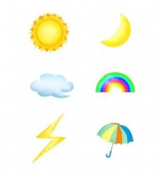 天气预报符号