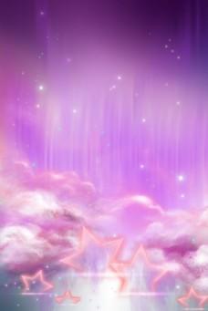 红色星云天空云层