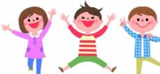 孩子们欢乐的表情