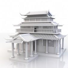 中国古代寺庙衙门官府府邸建筑