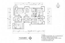 大户型豪华装修CAD施工图