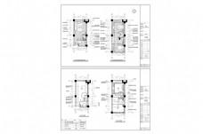 复式住宅欧式风格CAD施工图