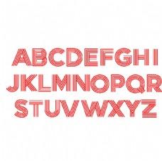 回形针字母