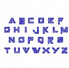 创意机械字母