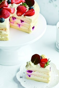 生日蛋糕图片 水果蛋糕