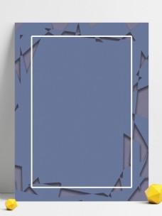 创意几何涂抹质灰蓝背景