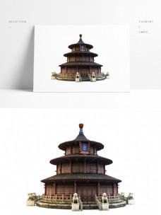 中国风古典建筑正和殿