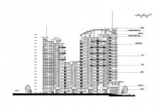 高楼大厦CAD建筑施工图